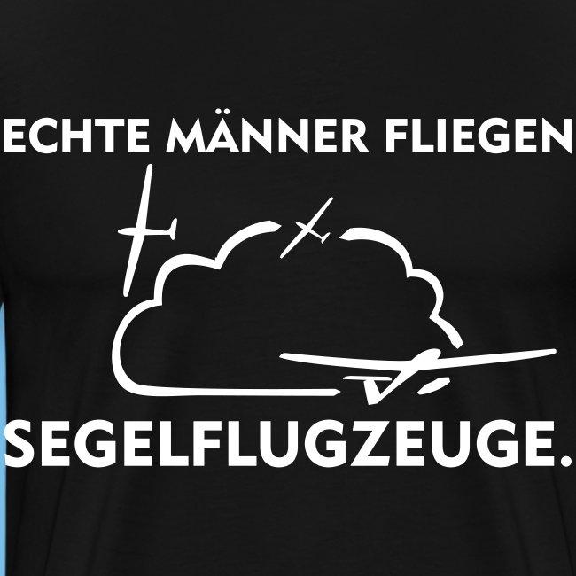 Mann lustig Segelflieger Segelflugzeug Geschenk