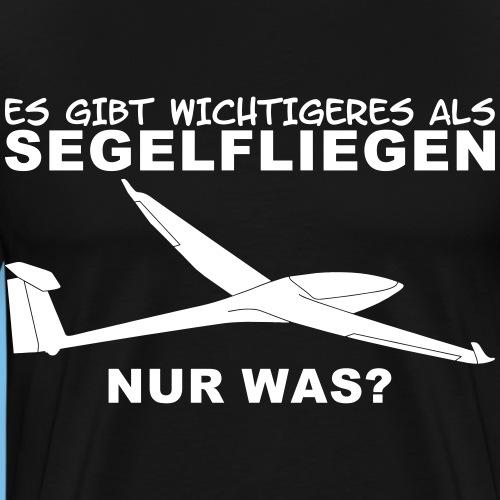 Segelflieger wichtig Segelflugzeug Geschenk Tshirt - Männer Premium T-Shirt