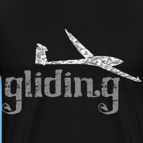 Segelflieger gleiten Segelflugzeug Geschenkidee - Männer Premium T-Shirt
