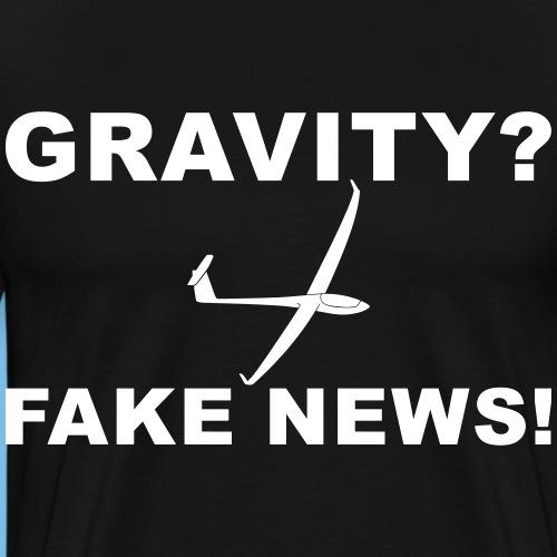 Nachrichten Segelflieger Segelflugzeug lustig - Männer Premium T-Shirt