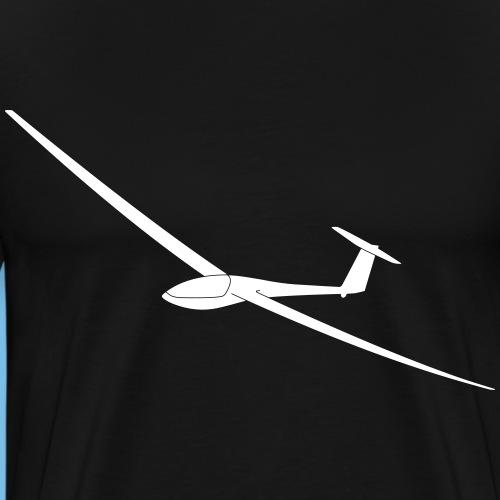 DG400 Segelflugzeug Segelflieger Geschenkidee - Männer Premium T-Shirt