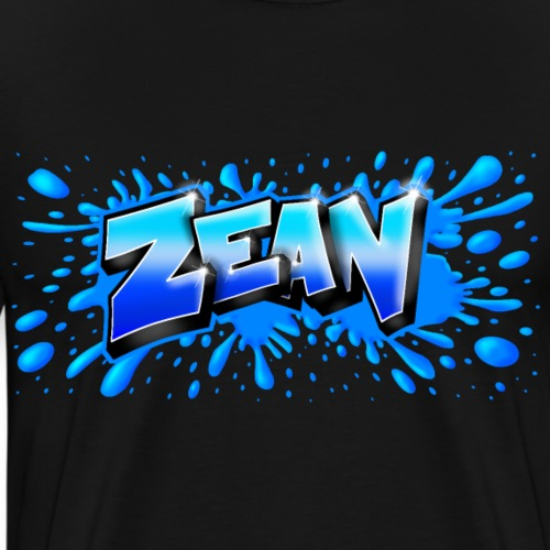 ZEAN GRAFFITI NAME PRINTABLE - T-shirt Premium Homme