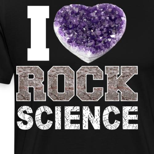 Coleccionistas y amantes de los minerales - Camiseta premium hombre