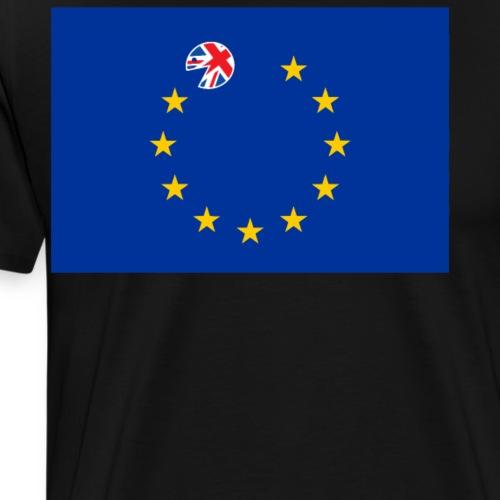 Bandera Europea Devorada Por el Reino Unido Brexit - Camiseta premium hombre