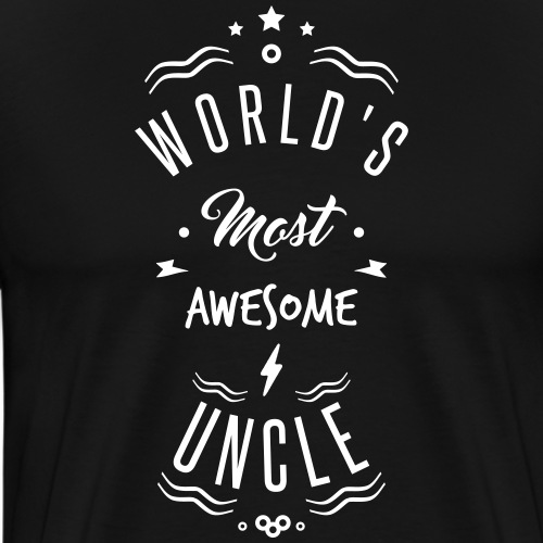 AWESOME UNCLE - T-shirt Premium Homme