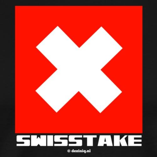 Swisstake - Mannen Premium T-shirt
