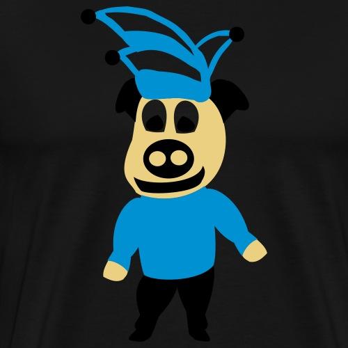 schwein karneval - Männer Premium T-Shirt