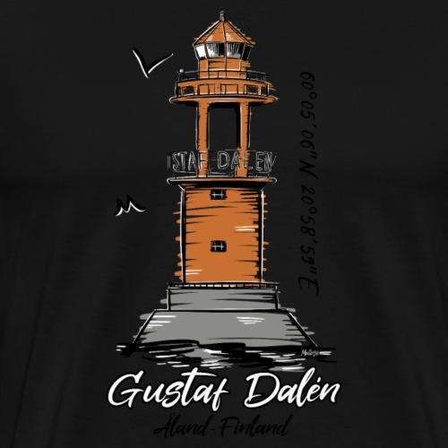 GUSTAF DALEN T-PAIDAT, MAJAKKATUOTTEET, LAHJAT - Miesten premium t-paita