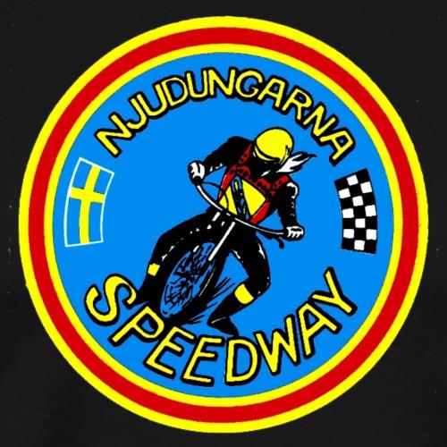 Njudungarna Speedway - Premium-T-shirt herr