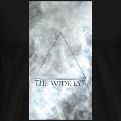 THE WIDE EYE Motiv A - Premium-T-shirt herr