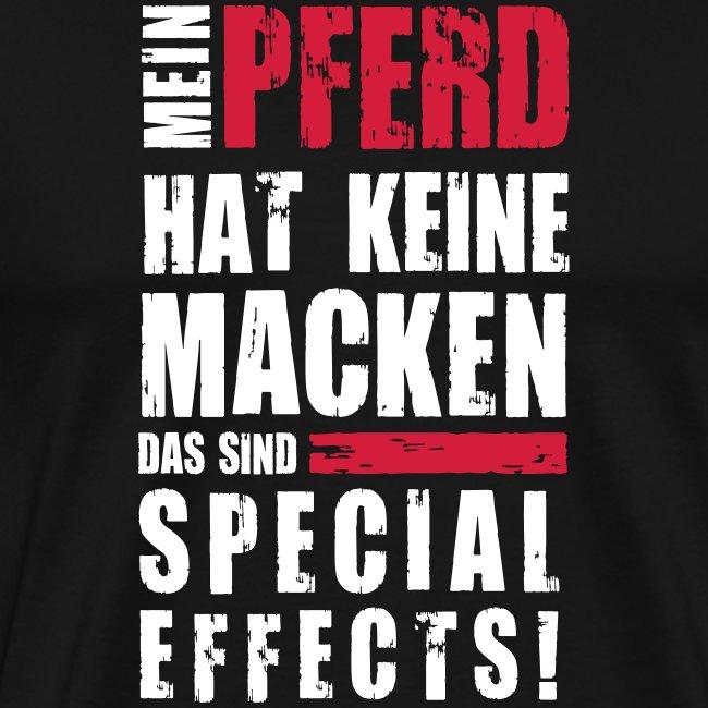 Vorschau: Keine Macken Pferd - Männer Premium T-Shirt