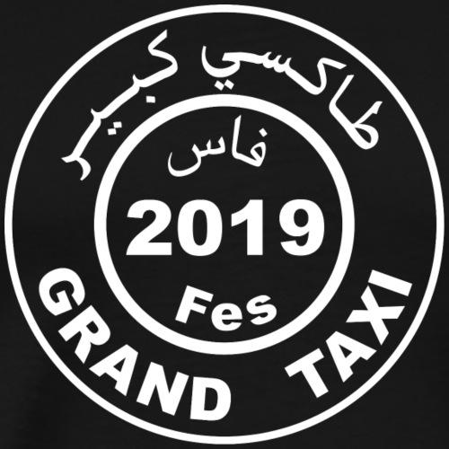 Logo du Grand Taxi Fès 2019 - T-shirt Premium Homme