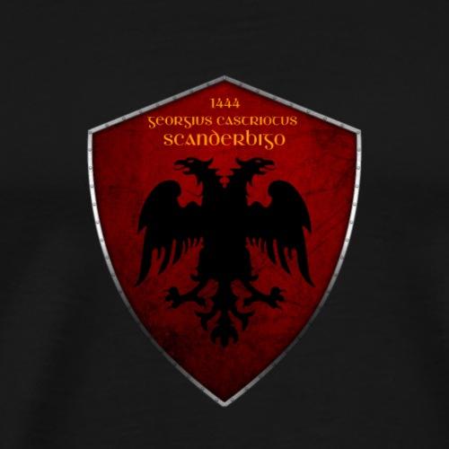 Stema e Skenderbeut - Männer Premium T-Shirt