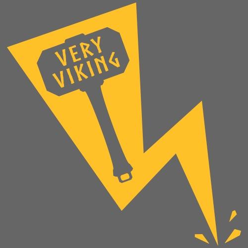 Lightning - Very Viking - Herre premium T-shirt