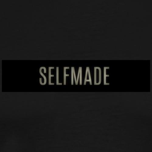 Selfmade Logo Schwarz - Männer Premium T-Shirt