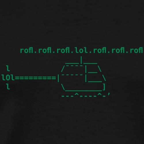ROFLcopter - Männer Premium T-Shirt