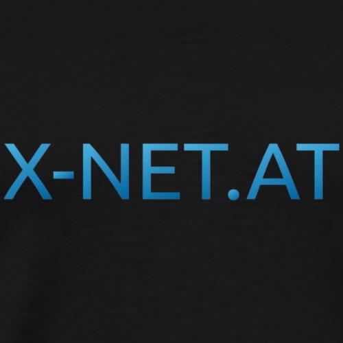 X net Url blau v1 - Männer Premium T-Shirt