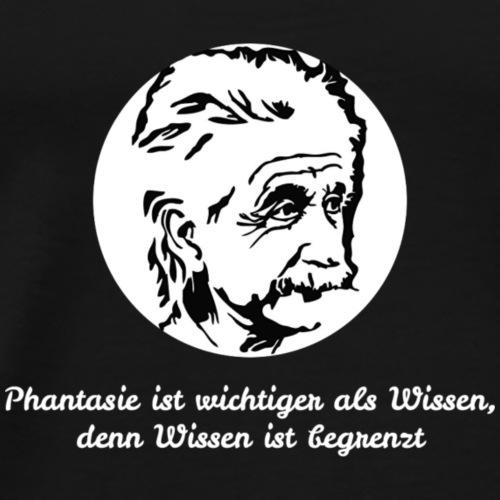 Albert Einstein - Männer Premium T-Shirt