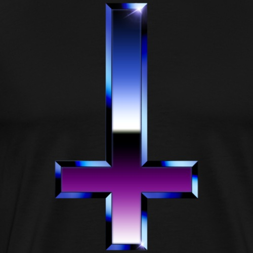 Chrome Cross - Men's Premium T-Shirt