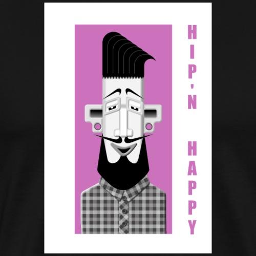 Hipster No3 - Männer Premium T-Shirt