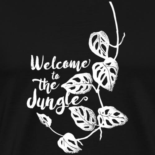 Jungle White - Männer Premium T-Shirt