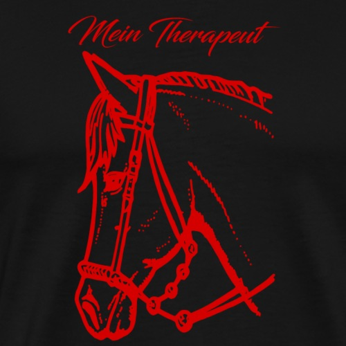Mein treues Therapeut Pferd - girls - Mädchen - Männer Premium T-Shirt