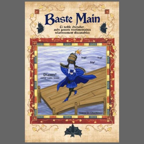 Affiche Baste main - T-shirt Premium Homme