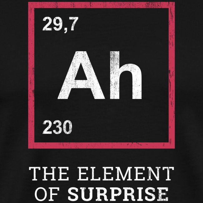 Ah the element of surprise – RED
