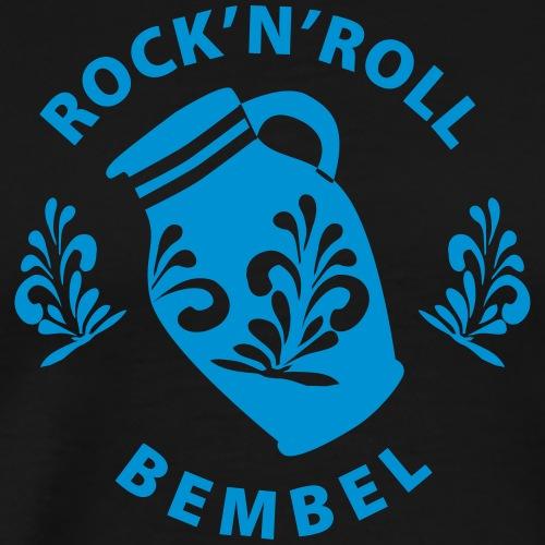 Rock'n'Roll Bembel Frankfurt - Männer Premium T-Shirt