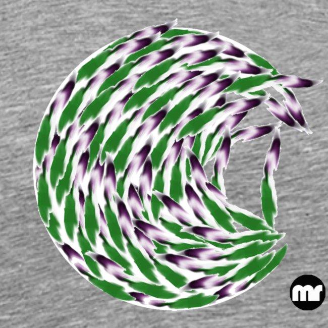 Verde e viola, the circle of tulips