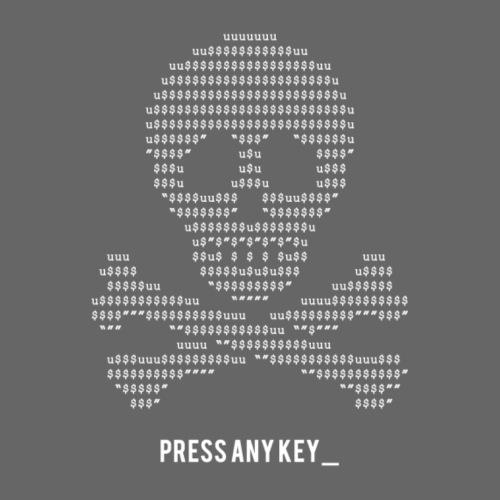Press Any Key - Men's Premium T-Shirt
