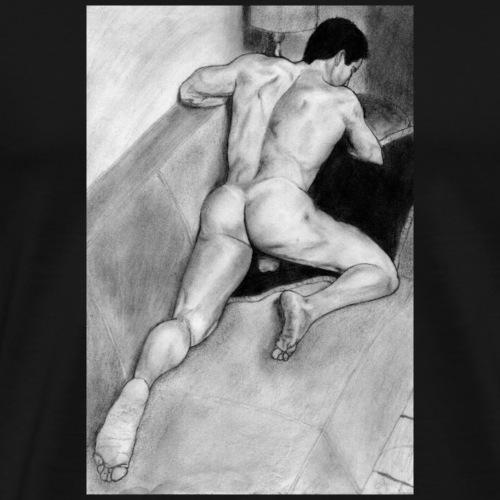 Ass man pencil - Camiseta premium hombre