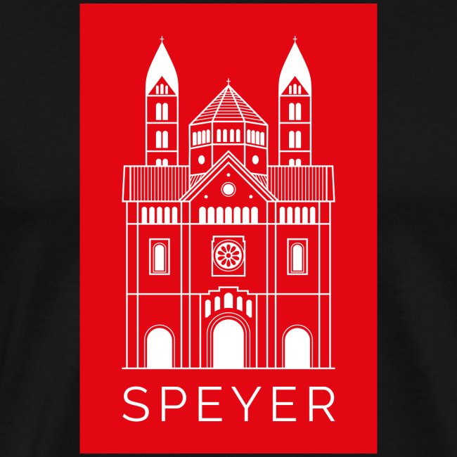 Speyer - Dom - Red - Modern Font