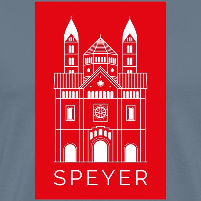 Speyer - Dom - Red - Modern Font