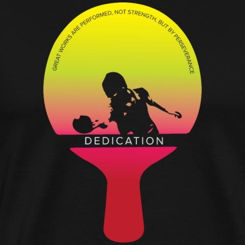 Engagement, ein Champion Tischtennis zu sein - Männer Premium T-Shirt