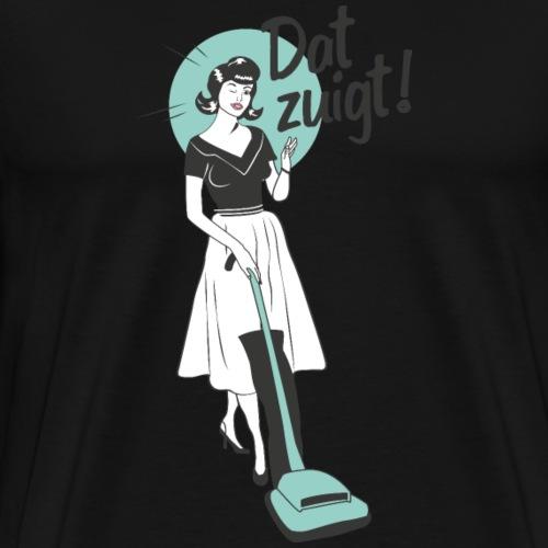 Dat zuigt - Mannen Premium T-shirt