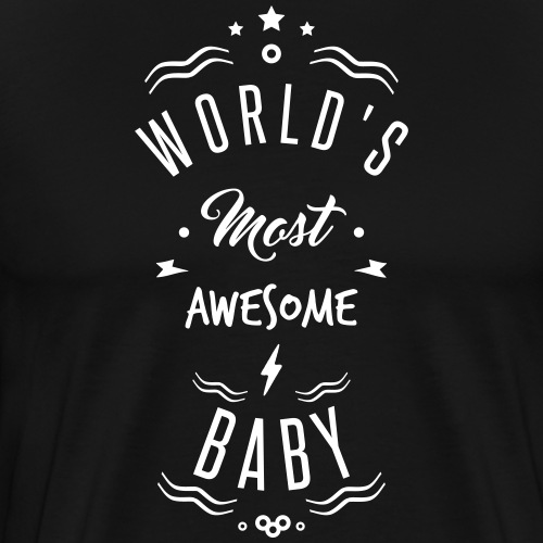 awesome baby - T-shirt Premium Homme