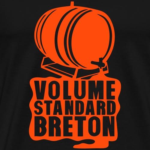 volume standard breton barrique tonneau - T-shirt Premium Homme
