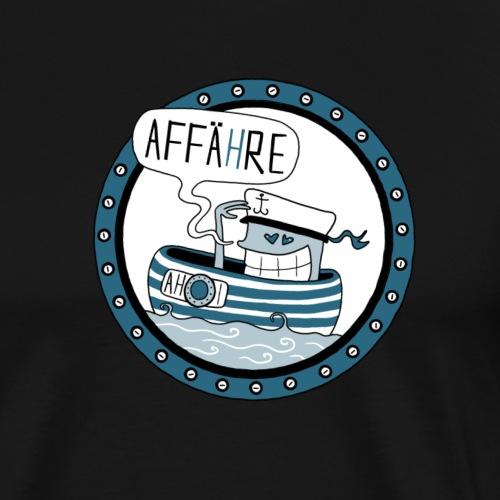 Affähre - Männer Premium T-Shirt