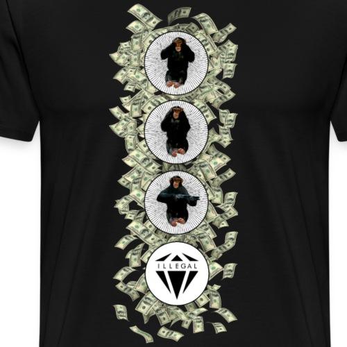 ILLEGAL - Maglietta Premium da uomo