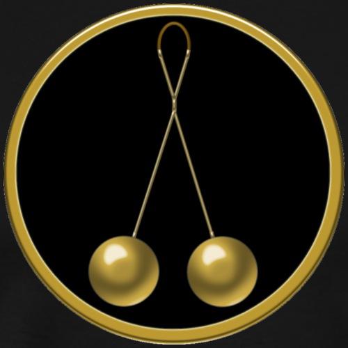 Brass Balls - Männer Premium T-Shirt