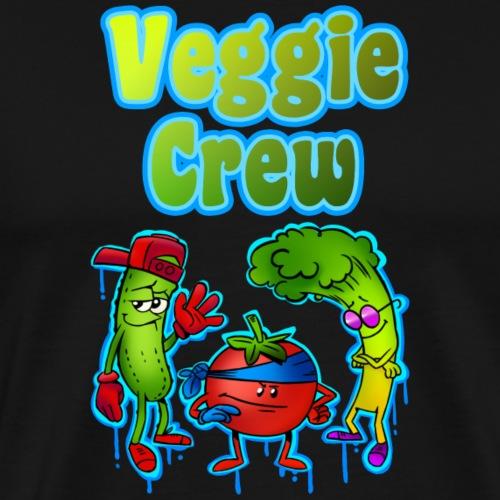 Gemüse Cartoon Design - Männer Premium T-Shirt