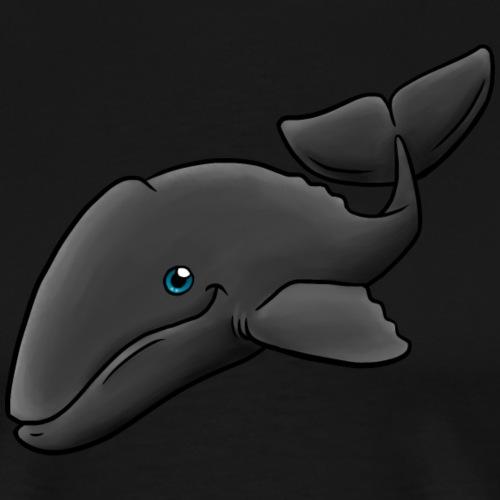 Kleiner Grauwal - Männer Premium T-Shirt