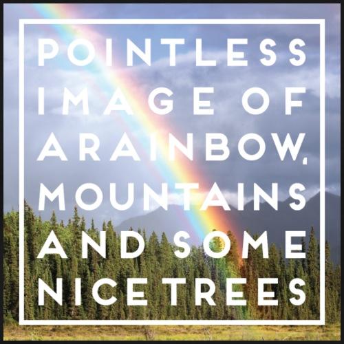 Pointless Rainbow - Men's Premium T-Shirt