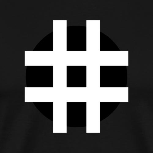 HASTAG ... - Herre premium T-shirt