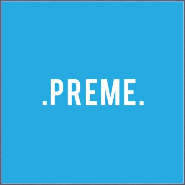 preme box logo blue png