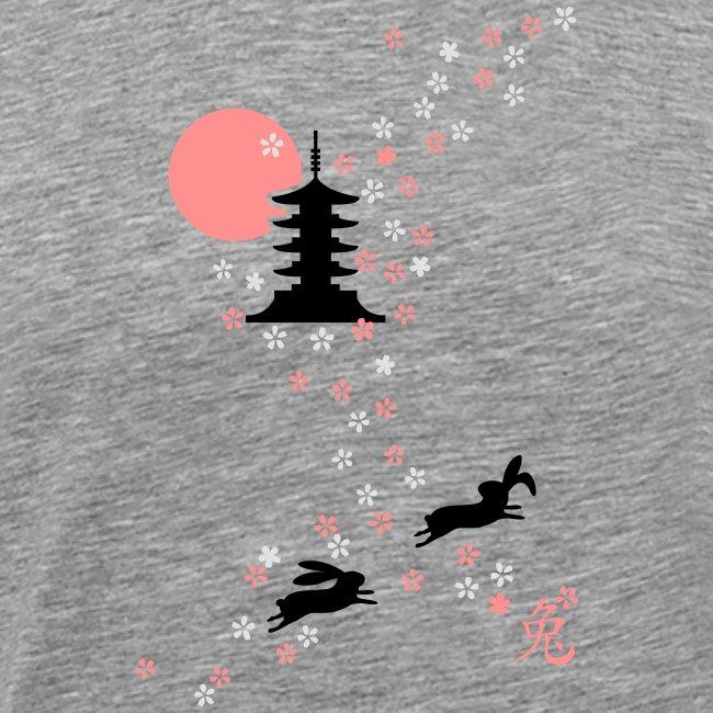 Kirschblüten Häschen hase bunny kaninchen langohr