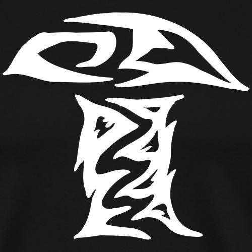 Pilztribal Pilz Tribal einfach - Männer Premium T-Shirt
