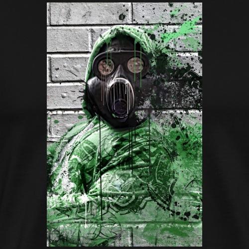 GasMask 01 - Männer Premium T-Shirt