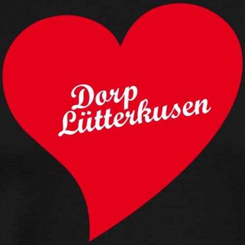 Herz Dorp Lütterkusen - Männer Premium T-Shirt